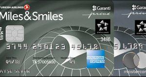 Garanti Bankası Miles&Smiles Kredi Kartı Özellikleri