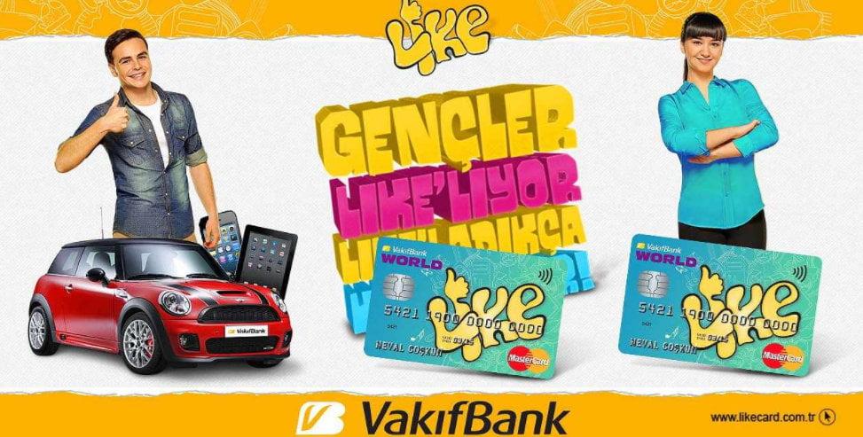 VakıfBank Like Card Özellikleri