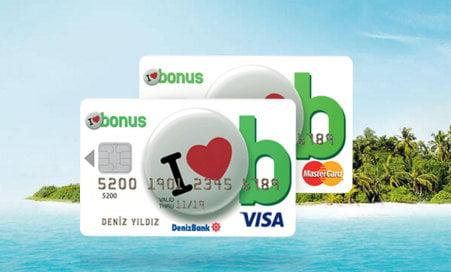 Deniz Bonus Kredi Kartı Özellikleri