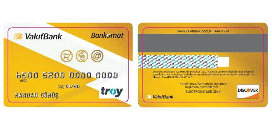VakıfBank Bankomat Kart Türleri
